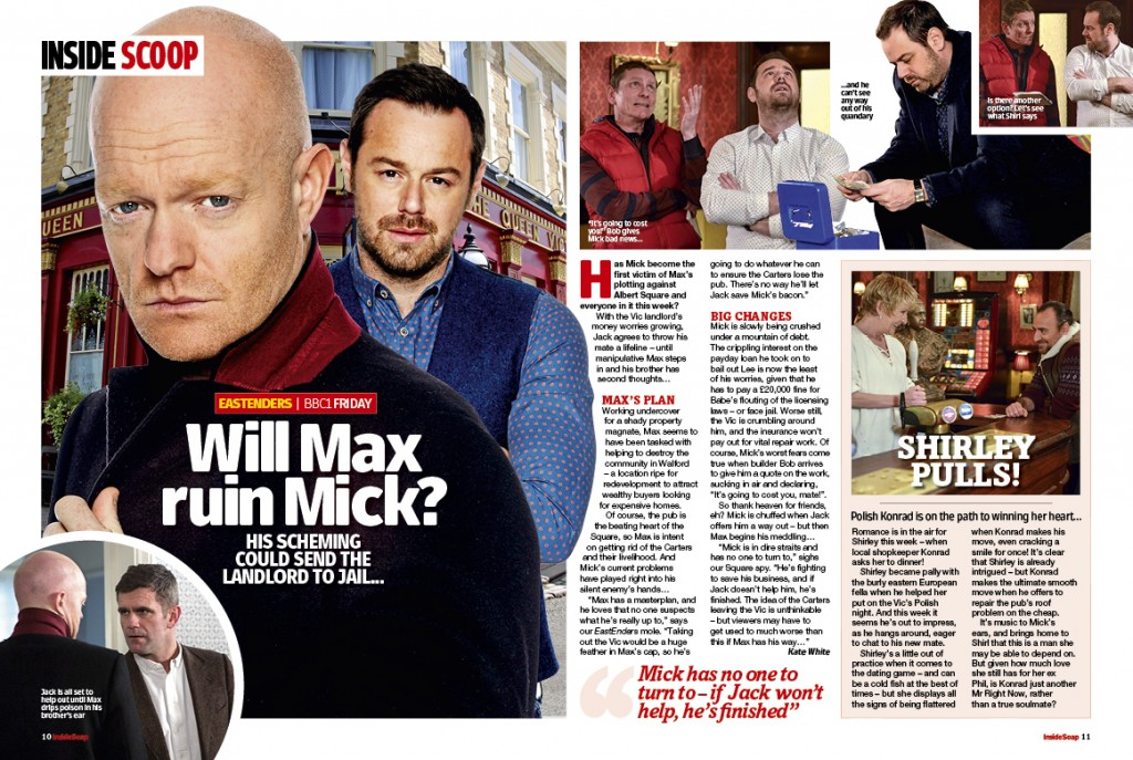 EastEnders:Will Max ruin Mick?