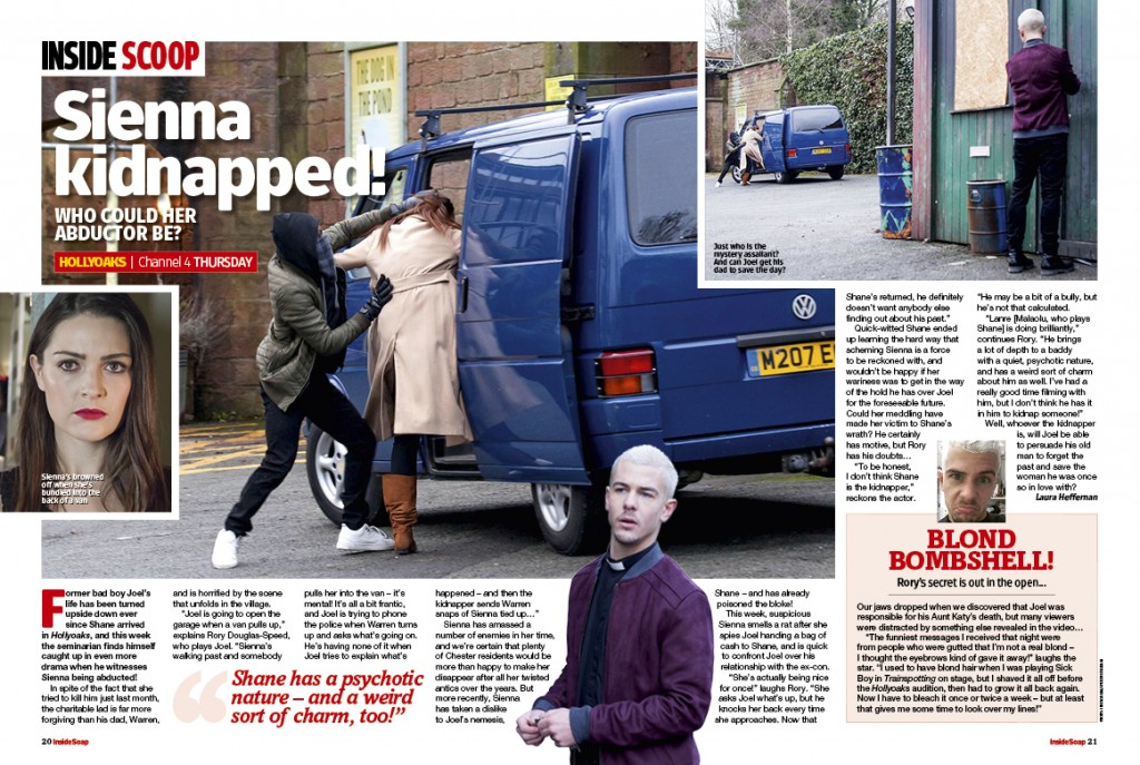 Hollyoaks: Sienna kidnapped!