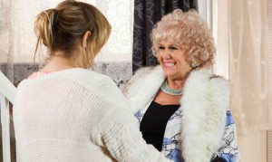 Hollyoaks: Nana McQueen returns! Sonia and Lisa fight!