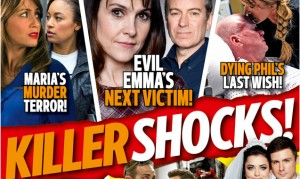 See what's in the latest issue of Inside Soap – out today!