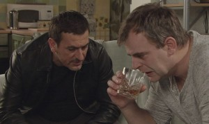 Video: Steve comes clean to Peter in tonight's Corrie!