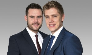 Robert and Aaron's big day – will it end in tears?
