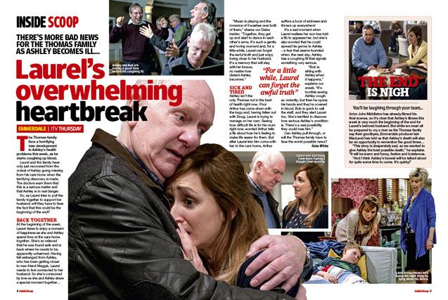 Emmerdale: Laurel's overwhelming heartbreak!