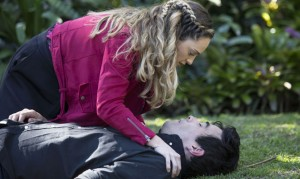 Home and Away: Justin collapses! Tori to the rescue?
