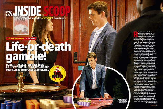 Corrie: Life or death gamble!