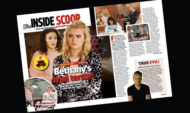 Corrie: Bethany's trial terror!