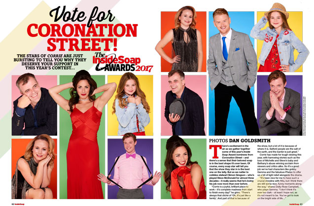 Vote for Corrie!