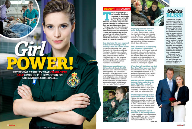 Casualty: Girl power!