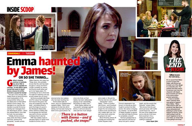 Emmerdale: Emma haunted by James!