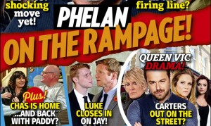 It's out today – take a first look at the brand new Inside Soap!