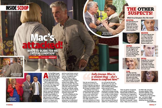 Hollyoaks: Mac's attacked!