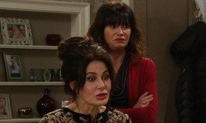 Chas and Faith are in for a surprise in tonight's Emmerdale!