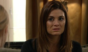 Chrissie is worried in tonight's clip from Emmerdale!