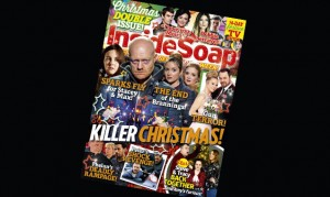It's the Inside Soap Christmas double issue – get yours today!