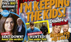 The new Inside Soap is out today – see it first right here!
