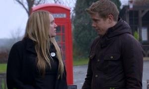 Rebecca faces the future in tonight's Emmerdale clip!