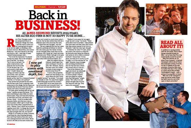 Hollyoaks: Back in business!