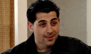 David's face to face with Josh in our Corrie clips!