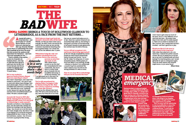 Doctors: The bad wife!