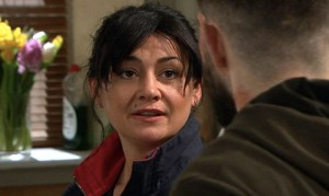 Will Moira tell Ross the truth in our Emmerdale clip?