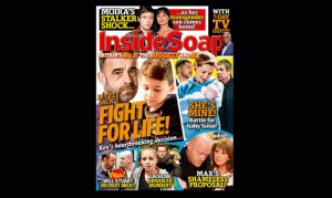 Your new Inside Soap is in the shops and download now!