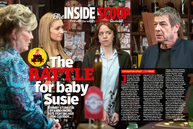 Corrie: The battle for baby Susie!