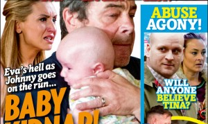 Get your new issue of Inside Soap – out today!