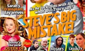 Get the new issue of Inside Soap – out now!
