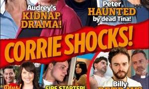 Yippee! The new issue of Inside Soap is here!