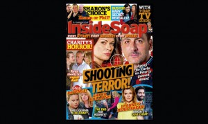Your new Inside Soap issue has landed! Here's a sneak peek of this week's action!