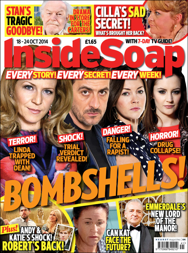 it s out today   the new magazine   inside soap