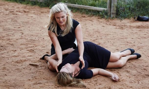 Home And Away Brax Buries Casey John Surprises Marilyn