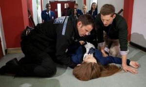 Hollyoaks: Nico collapses! Can Sienna help Trevor?