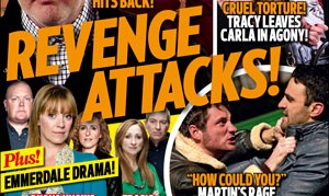 First look! The big stories in the  new Inside Soap!