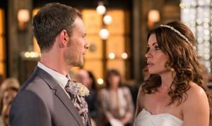 Corrie: Wedding day drama! Callum uncovered?