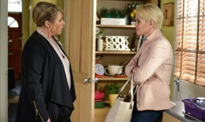 EastEnders: Sam's back to cause trouble! Romance for Kathy?