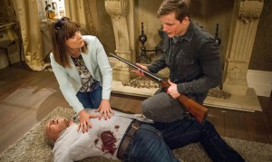 Emmerdale: Lachlan shoots Lawrence! Marlon loves Carly?