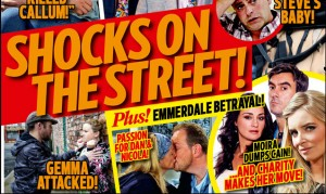 Your first look at the brand new issue of Inside Soap!